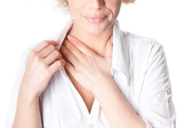 Выброс кислоты из желудка в пищевод